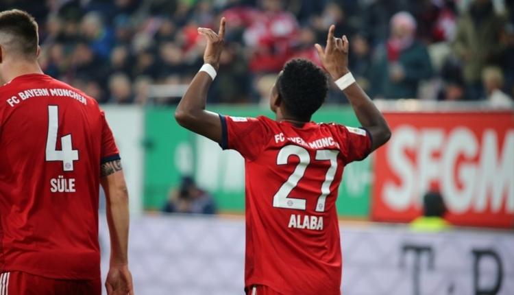 Augsburg 2-3 Bayern Münih maç özeti ve golleri