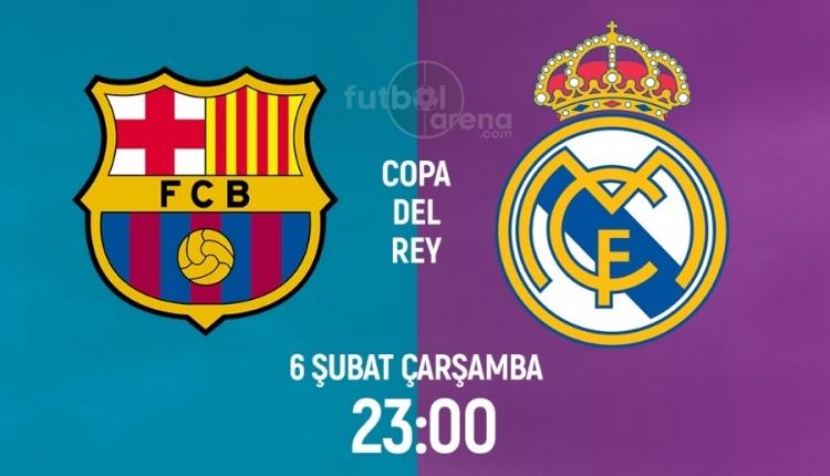 Barcelona Real Madrid maçı canlı ve şifresiz izle