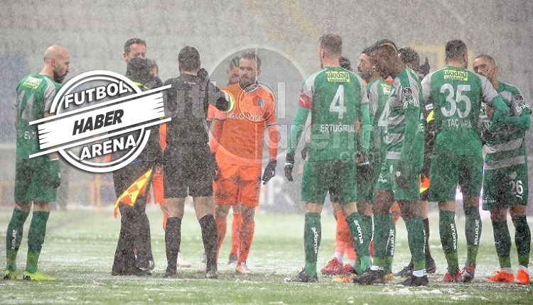 Başakşehir - Bursaspor maçı neden ertelendi? Kim ne söyledi?
