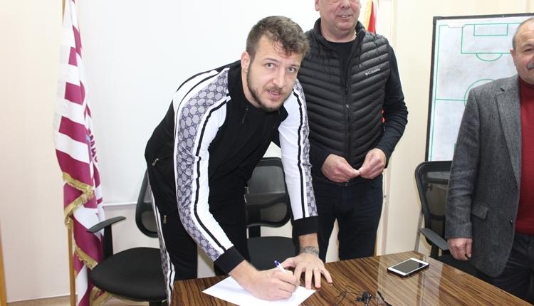 Batuhan Karadeniz yeni takımına imza attı