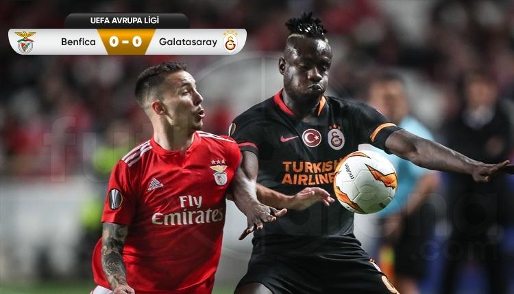 Benfica 0-0 Galatasaray maç özeti izle
