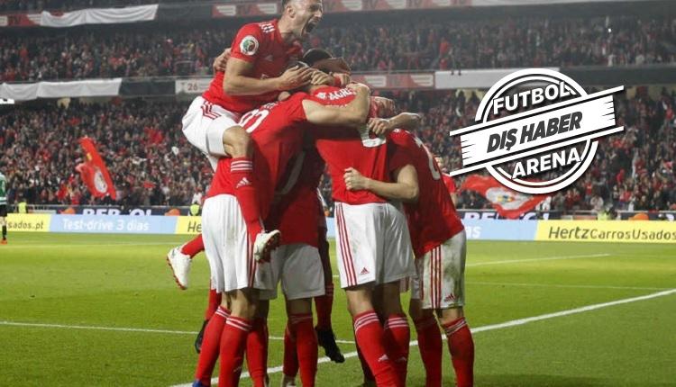 Benfica'nın Galatasaray maçı kadrosunda önemli eksikler