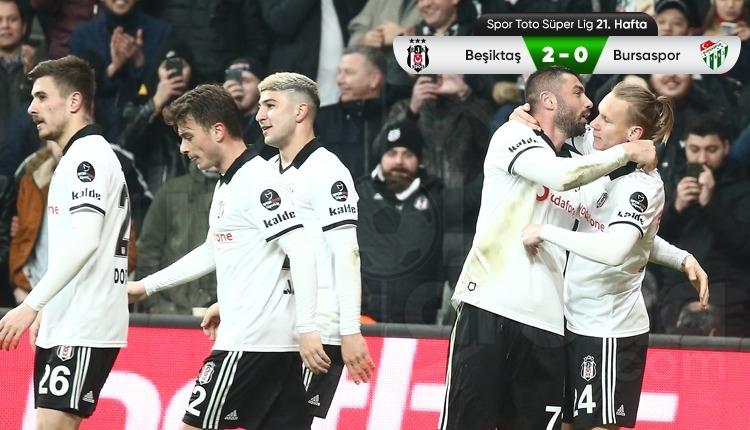 Beşiktaş 2-0 Bursaspor maç özeti ve golleri (İZLE)