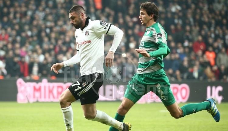 Gökhan Gönül rekor kırdı! Beşiktaş, Bursaspor geleneğini sürdürdü