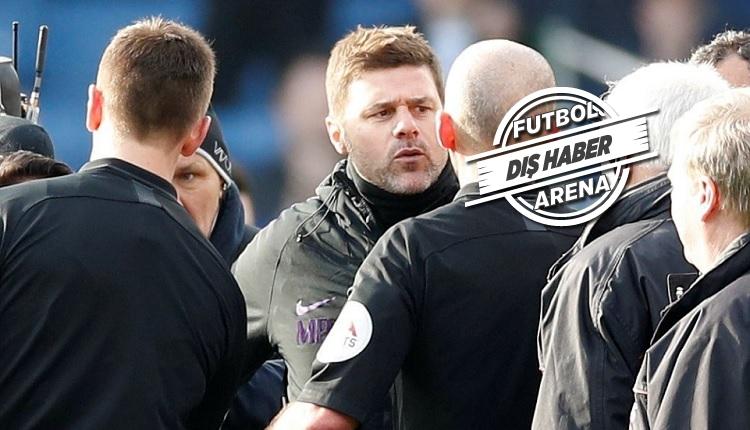 Burnley 2-1 Tottenham maç özeti ve golleri (Pochettino hakemin üzerine yürüdü)