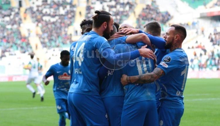 Bursaspor 0-2 Çaykur Rizespor maç özeti ve golleri izle