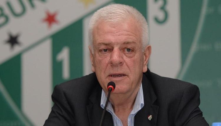 Bursaspor Başkanı Ali Ay sezon sonu için kararını verdi