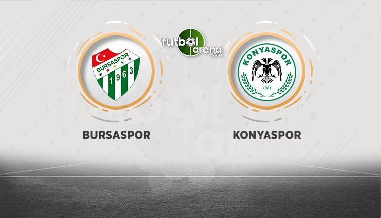 Bursaspor Konyaspor maçı canlı şifresiz izle (Bursa Konya beIN Sports)