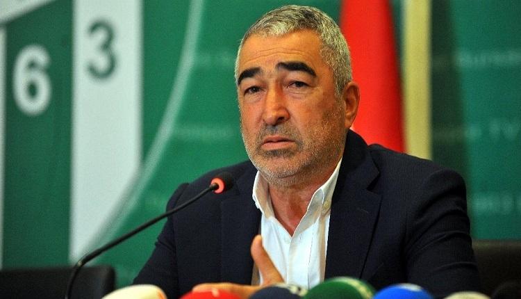 Bursaspor'da Samet Aybaba'dan istifa sorusuna flaş yanıt