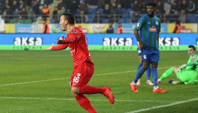 Çaykur Rizespor 1-1 Antalyaspor maç özeti ve golleri (İZLE)