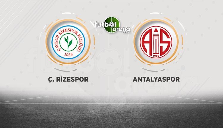 Çaykur Rizespor - Antalyaspor canlı şifresiz izle (BeIN Sports canlı izle)