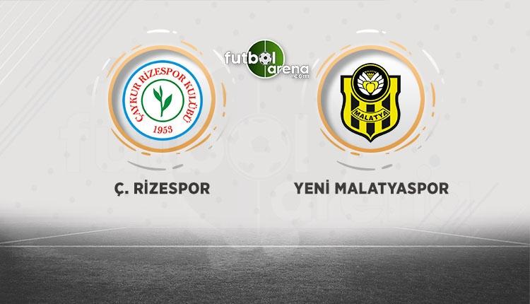Çaykur Rizespor Yeni Malatyaspor maçı canlı ve şifresiz izle (Rizespor Malatyaspor beIN Sports İZLE)