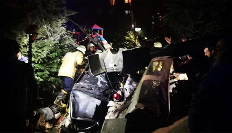 Çekmeköy'de askeri helikopter düştü! İstanbul valisi şehit sayısını açıkladı