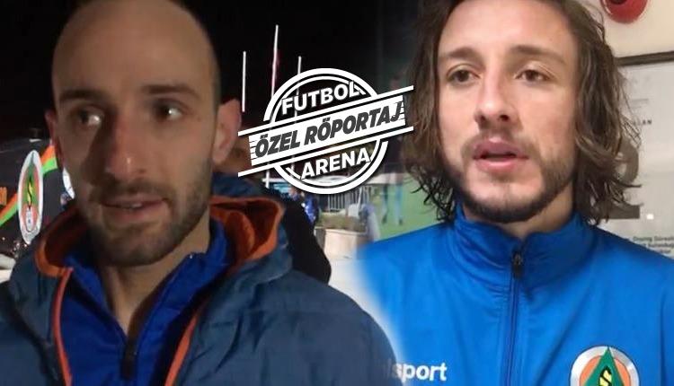 Efecan Karaca ve Taha Yalçıner maç sonu FutbolArena'ya konuştu