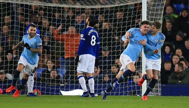 Everton 0-2 Manchester City maç özeti ve golleri izle