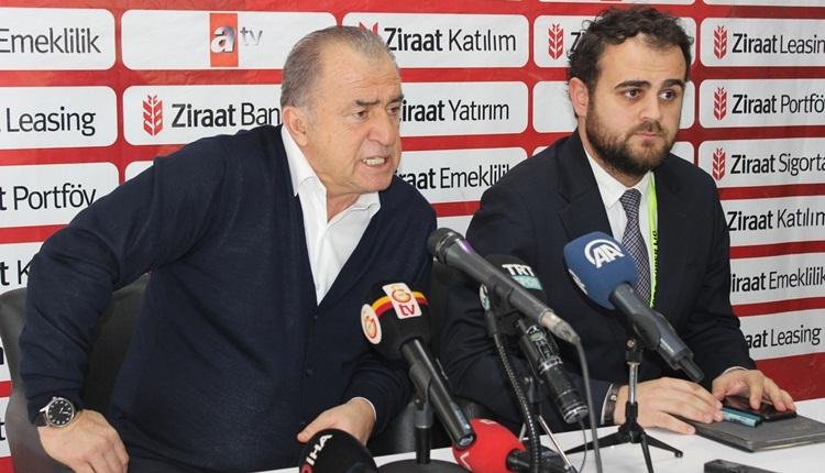 Fatih Terim'den TFF'ye Erzurumspor göndermesi