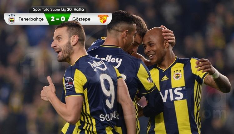 Fenerbahçe, Göztepe galibiyetiyle hayat buldu (İZLE)