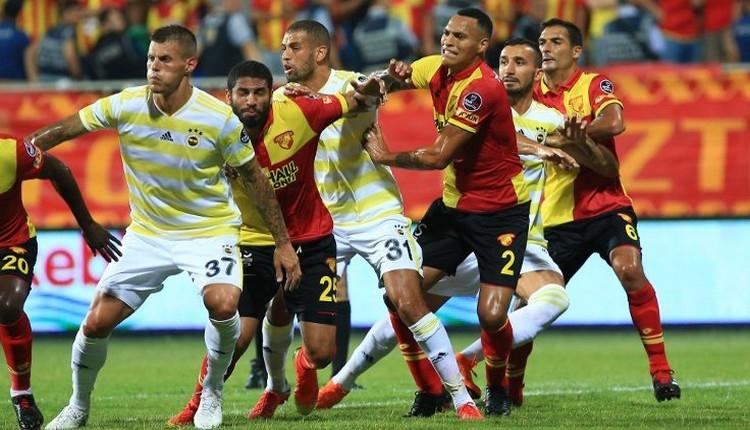 Fenerbahçe - Göztepe maçı öncesi dikkat çeken detay
