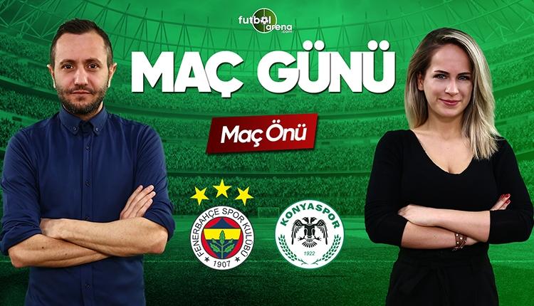 Fenerbahçe - Konyaspor canlı izle | FutbolArenaTV canlı yayın