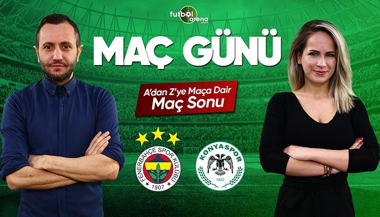 Fenerbahçe - Konyaspor maç özeti ve golleri   Canlı yayın