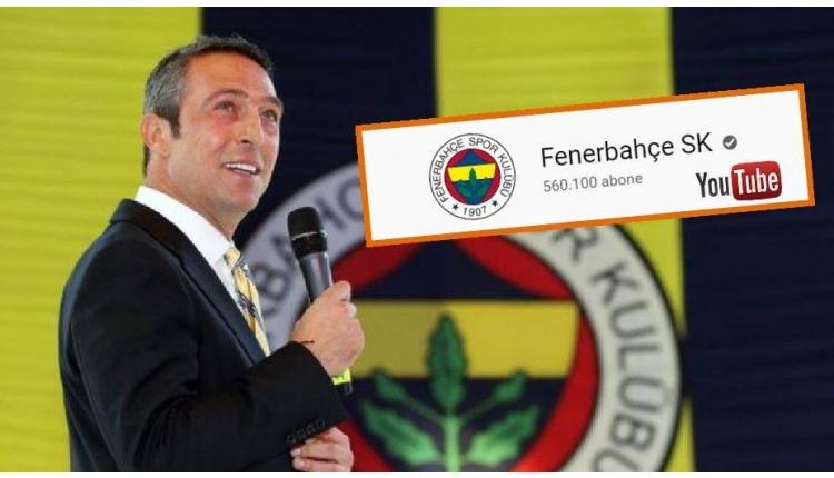Fenerbahçe Youtube hesabı dünyada en çok izlenenler arasında