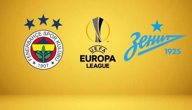 Fenerbahçe - Zenit canlı izle, Fenerbahçe - Zenit şifresiz izle (Fenerbahçe - Zenit beIN Sports canlı ve şifresiz İZLE)
