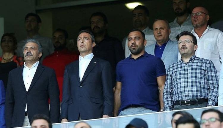 Fenerbahçe'de Ali Koç, Kayserispor maçında kimi aradı?