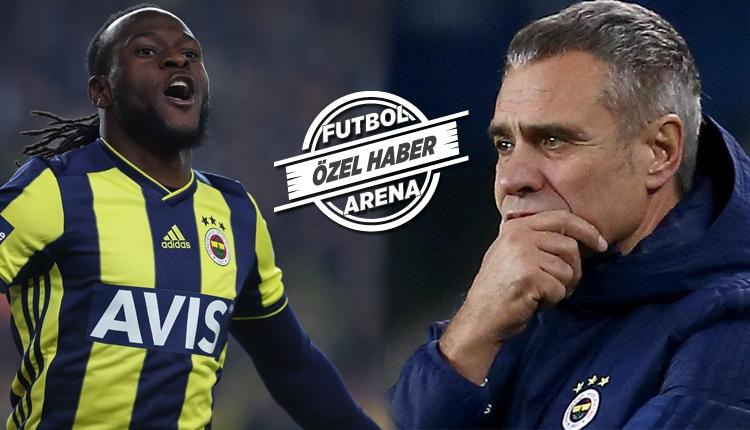 Fenerbahçe'de Ersun Yanal'dan Victor Moses kararı