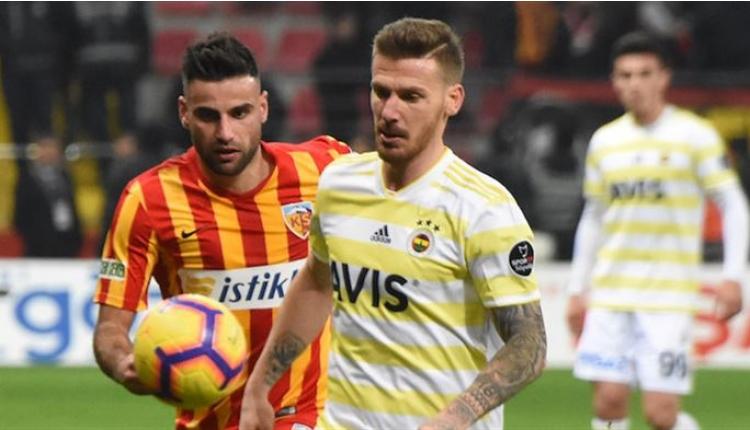 Fenerbahçe'de Serdar Aziz'e ilk 11 yolu göründü
