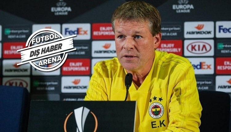 Fenerbahçe'nin eski hocası Erwin Koeman'ın yeni takımı