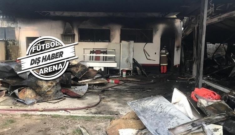 Flamengo tesislerinde yangın çıktı! 10 ölü