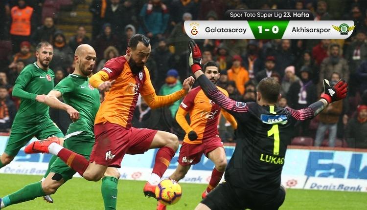 Galatasaray, Akhisarspor karşısında 90'da güldü