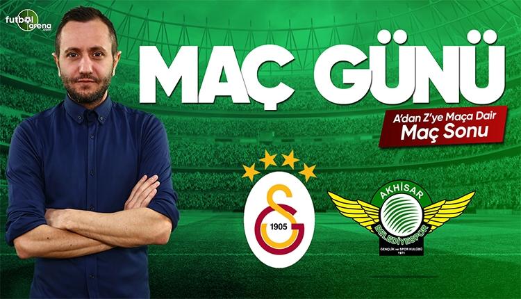 Galatasaray Akhisarspor maç özeti | FutbolArena canlı yayın