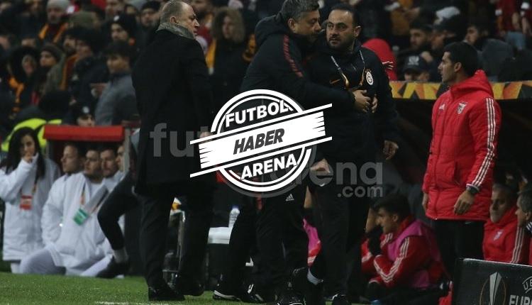 Galatasaray - Benfica maçında Hasan Şaş'ı zor tuttular