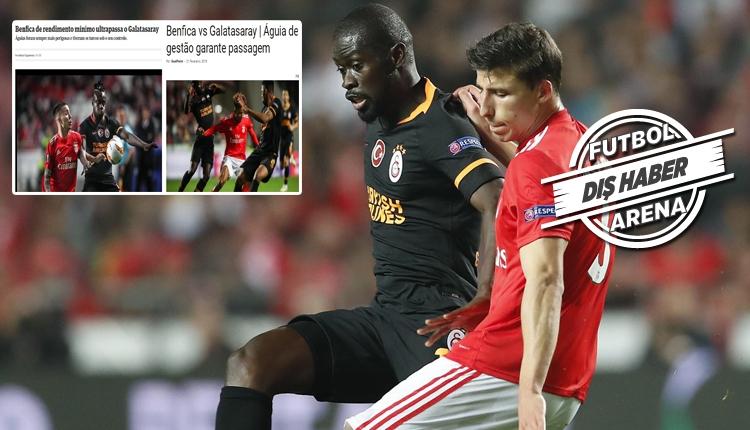 Galatasaray, Benfica'ya tehlike yaratamadı