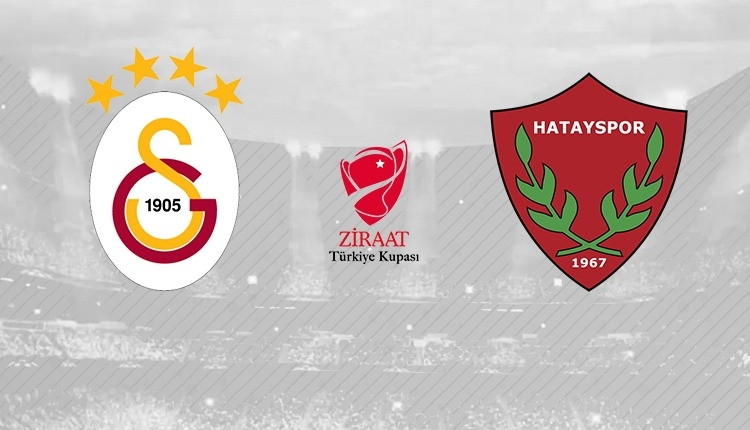 Galatasaray - Hatayspor hangi kanalda? (Galatasaray - Hatayspor canlı izle)