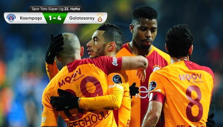 Kasımpaşa 1-4 Galatasaray maç özeti ve golleri (İZLE)