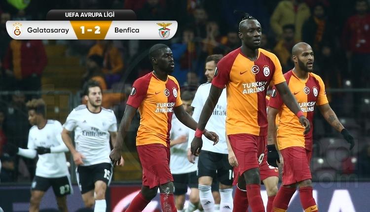 Galatasaray tur avantajını Benfica'ya kaptırdı (İZLE)