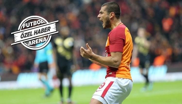 Galatasaray'da Eren Derdiyok ayrılığı kabul etmedi