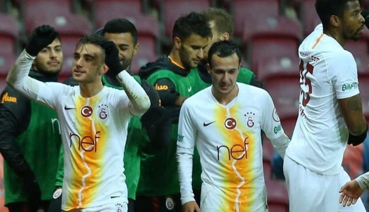 Galatasaray'ın Hatayspor maçı ilk 11'i açıklandı