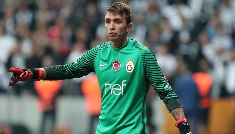 Galatasaraylı taraftarlardan Fernando Muslera'ya tepki