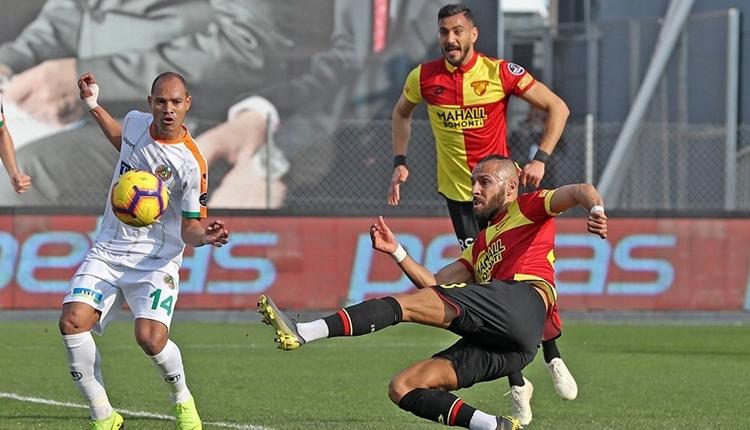 Göztepe 3-2 Aytemiz Alanyaspor maç özeti ve golleri (İZLE)