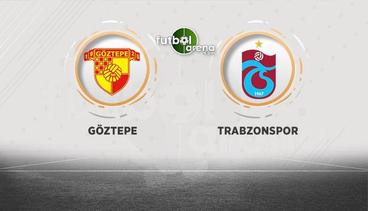Göztepe sahasında Trabzonspor'u ağırlayacak