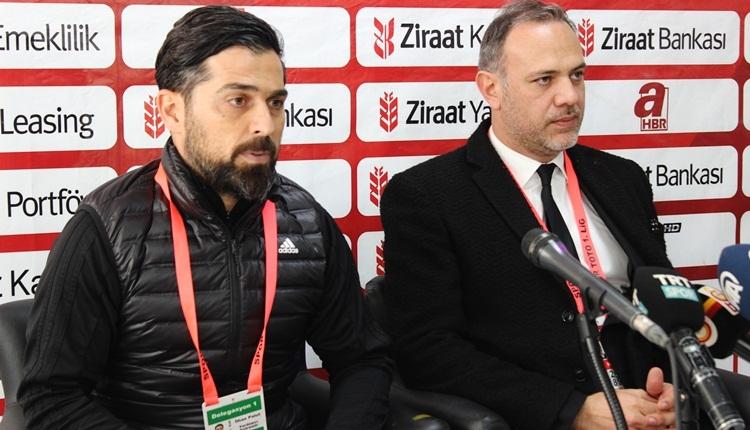 Hatayaspor hocasından Galatasaray sözleri! İtiraf etti
