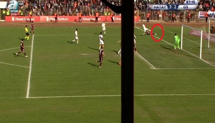 Hatayspor - Galatasaray maçına damga vuran VAR kararı