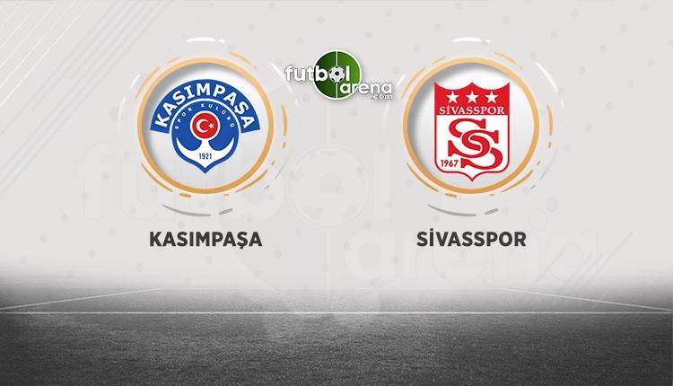 Kasımpaşa - Sivasspor maçı canlı izle (BeIN Sports canlı izle)