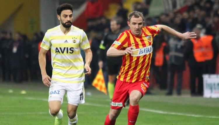 Kayserispor 1-0 Fenerbahçe maçı özeti ve golü (İZLE)