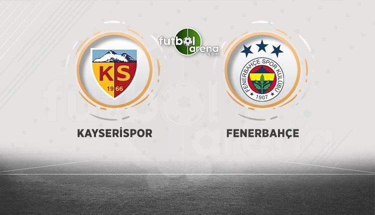 Kayserispor - Fenerbahçe canlı izle, Kayserispor - Fenerbahçe şifresiz İZLE (Kayserispor - Fenerbahçe beIN Sports canlı ve şifresiz İZLE)