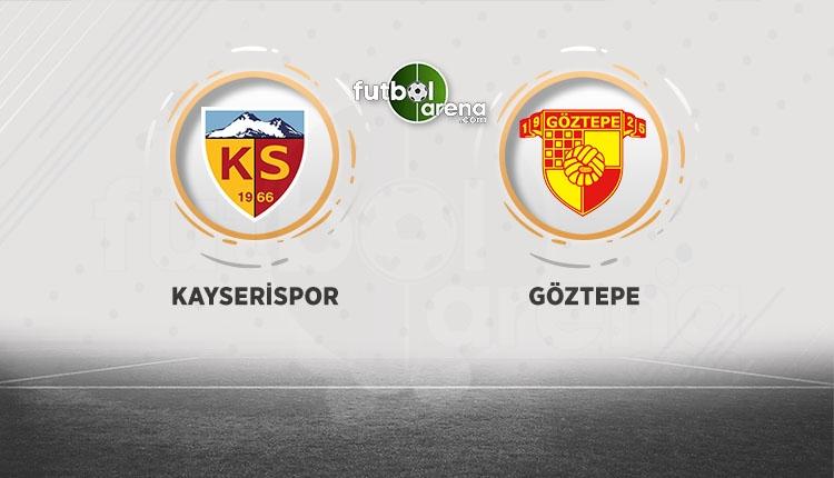 Kayserispor Göztepe canlı şifresiz beIN Sports İZLE
