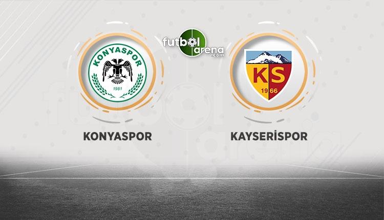 Konyaspor Kayserispor canlı ve şifresiz izle (Konya Kayseri beIN Sports İZLE)